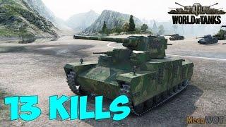 World of Tanks   O-HO   13 KILLS   6476 Damage - Replay 1080p 60 fps