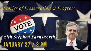 Image for vimeo videos on Electoral College Talk with Stephen Farnsworth