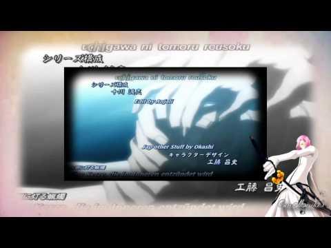 Bleach Opening 6 - Alones - Toriumi Kosuke [Szayel Aporro Granz]