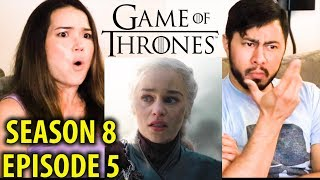 GAME OF THRONES | S08E05 - The Bells | Reaction!