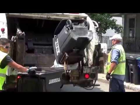 Russell Disposal 129 ~ Mack LEU Leach 2R3 Rear loader