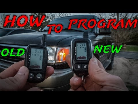 How To Program a New AVITAL Remote
