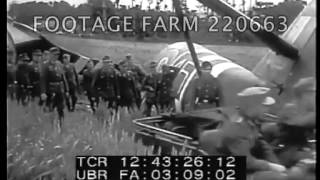German Defense Against D-Day Invasion 220663-09 | Footage Farm