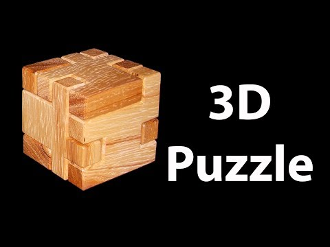 Making a 3D Wooden Puzzle Cube