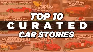 Top 10 Car Stories from John Temerian of CURATED