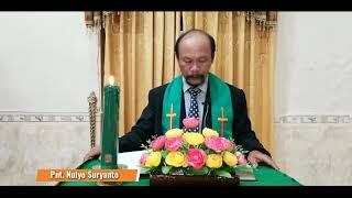 IBADAH MINGGU, 25 OKTOBER 2020 GKJW JEMAAT PENIWEN