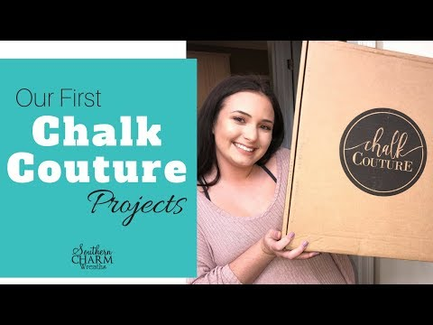 Opening our Chalk Couture Starter Kit