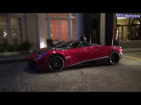 transformers 4 pagani huayra in beverly hills! - youtube