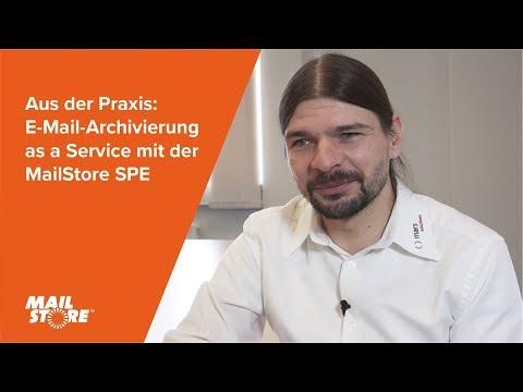 Aus der Praxis: E-Mail-Archivierung as a Service mit der MailStore SPE