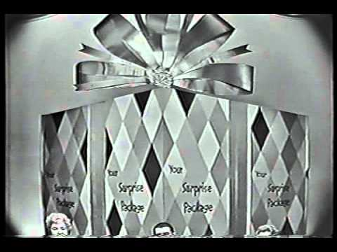 YOUR SURPRISE PACKAGE CBS short-lived 1961-62 game show opening