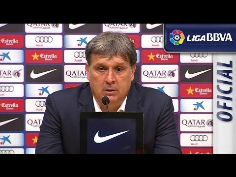 Press Conference Tata Martino after FC Barcelona (2-2) Getafe CF - HD