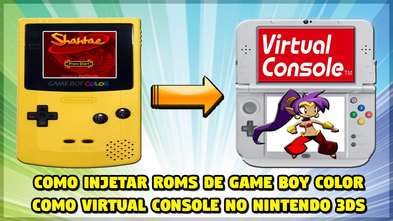 Gameboy color roms for free -  3ds Como Injetar Roms De Game Boy Color Como Virtual Console No Nintendo 3ds Cfw