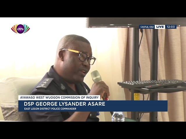 Hot video: Police commander for East Legon's car was taken from him during Ayawaso by-election