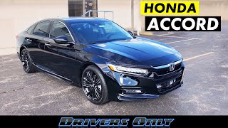 2018 / 2019 Honda Accord Touring - Amazing 2.0T Engine in a Family Sedan