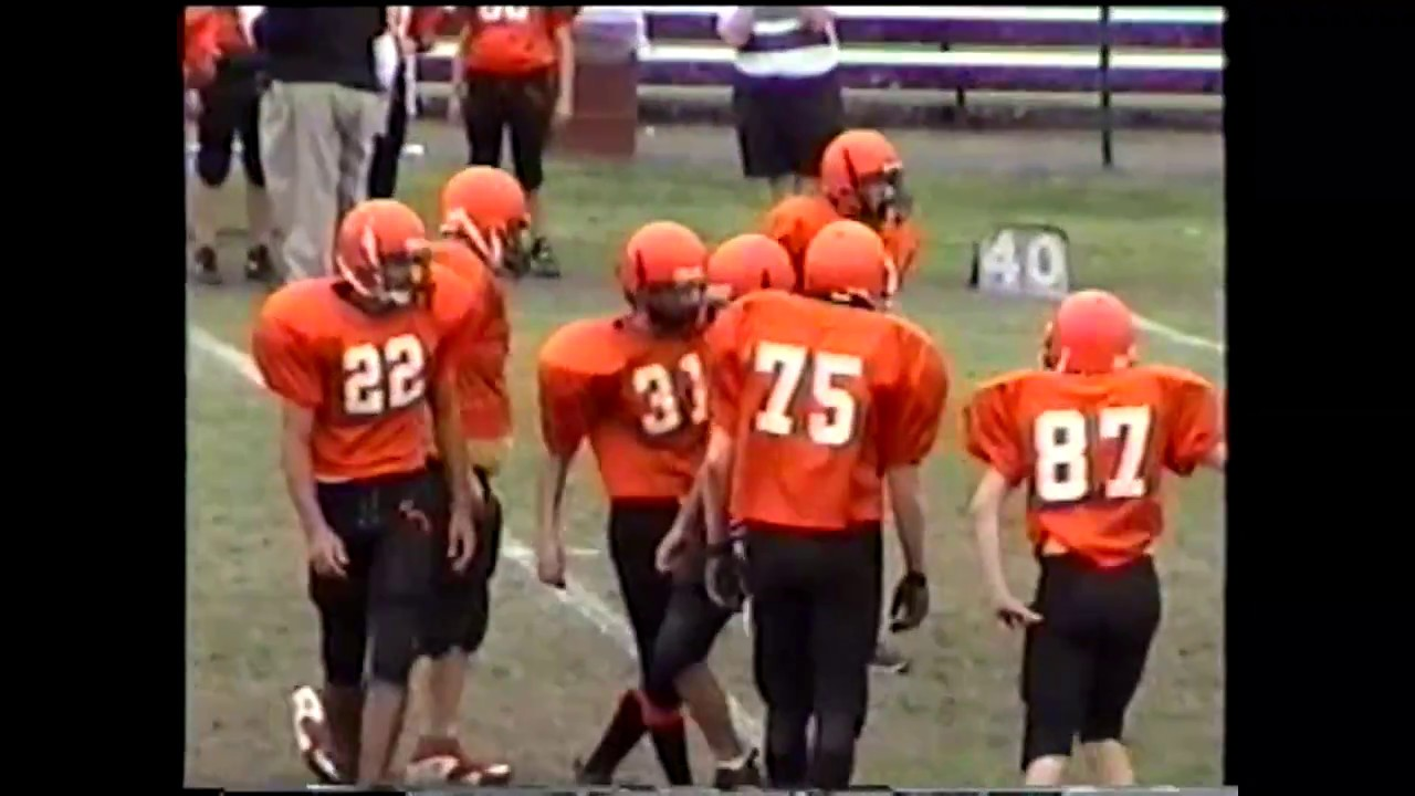 NCC - Plattsburgh - Peru JV Football  10-13-00