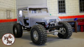LS Mail Jeep (2) - Chassis