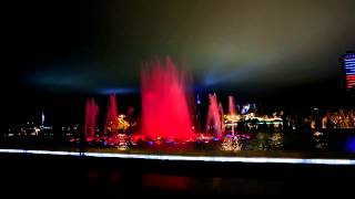 танцующий фонтан г. Баку 2012 год