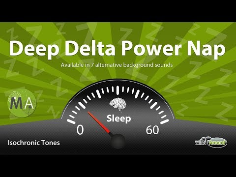 Deep Delta Power Nap Improve Memory, Problem Solving  Isochronic Tones, Deep Ambience
