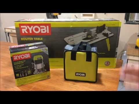 Ryobi Router Table And
