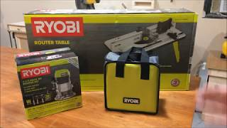 Ryobi Router Table and Router