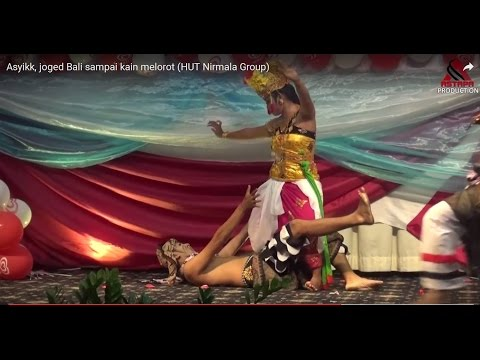 Asyikk, joged Bali sampai kain melorot (HUT Nirmala Group)