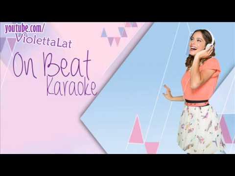 Violetta 2 - On Beat (Karaoke Oficial)