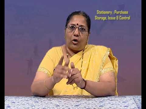 Purchase of Stationery, Storage of Stationery, Issue