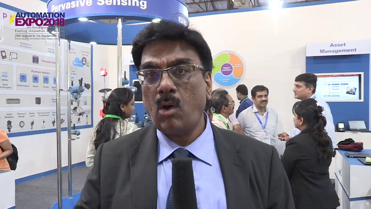 Anil Bhatia,Vice President and Managing Director at Emerson Automation  Solutions - India