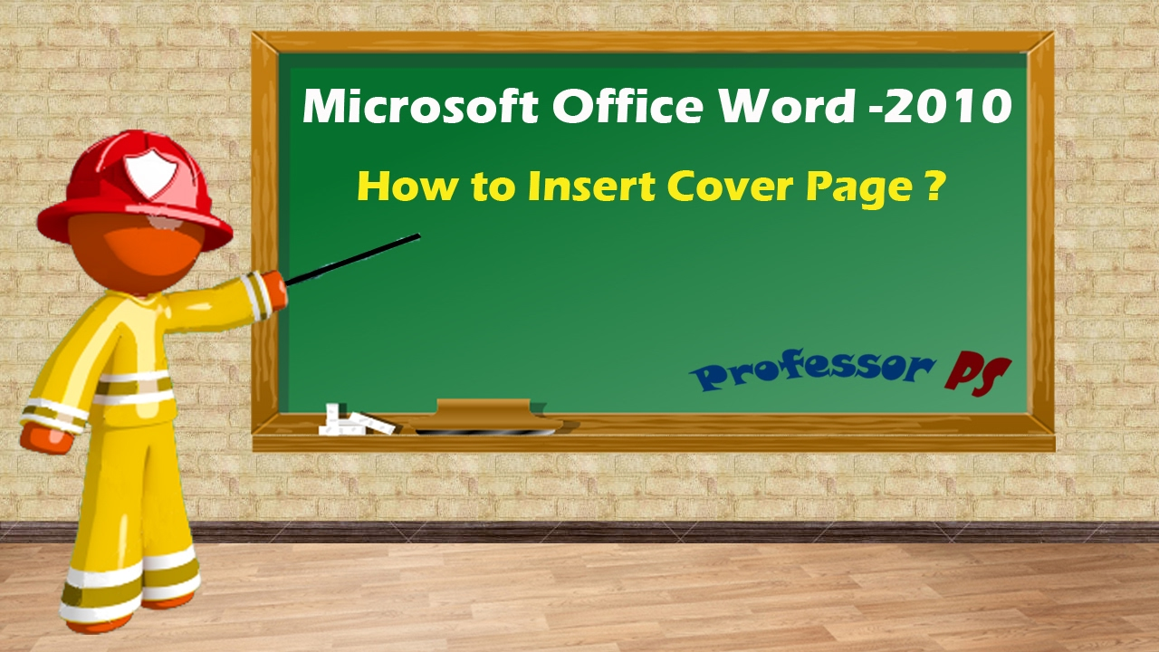 microsoft office word how to insert cover page microsoft office word how to insert cover page