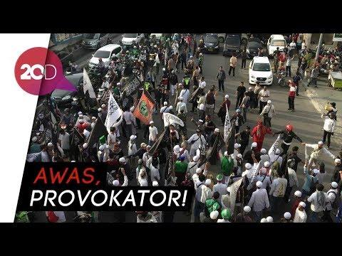 Massa Aksi Bela Tauhid Memanas di Depan Kantor GP Ansor
