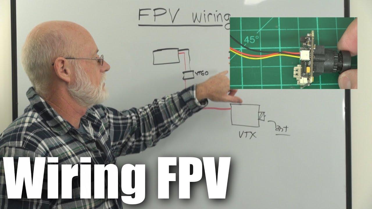 ultra basics wiring a basic fpv system [ 1280 x 720 Pixel ]