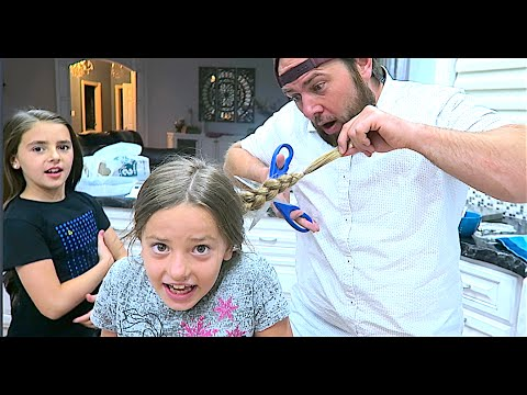 Thumbnail: DAD CUT HER HAIR!