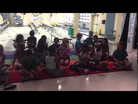 Students from Big Cypress Elementary School
