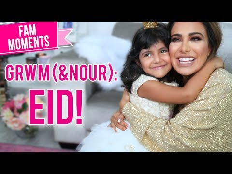 Get Ready With Me & My Daughter! Huda Beauty