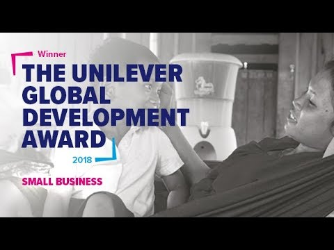 Hydrologic win the Unilever Global Development Award small