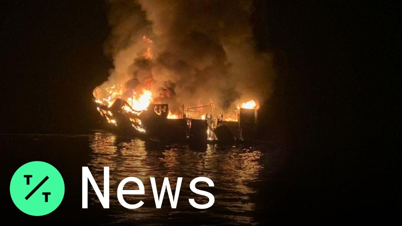 Coast Guard suspends search efforts for victims of California boat fire