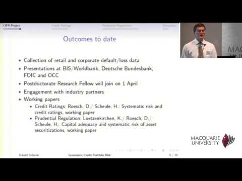 Financial Risk Day 2013 - Harald Scheule
