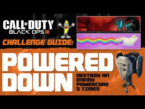 """How To Do The Powered Down Challenge - How To Destroy A Power Core (""""Return Fire Master"""")"""