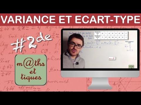 Download Calculer la variance et l'écart-type - Seconde