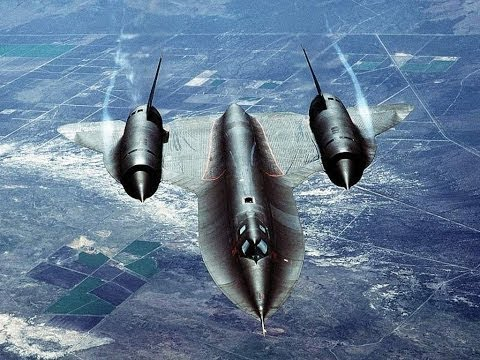 Amazing Flyight on the Secret US Scout Plane SR-71 Blackbird
