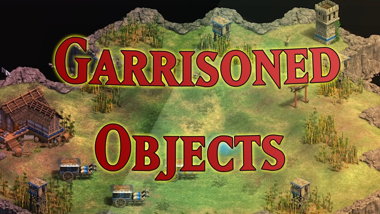 How to Create Garrisoned Objects in Age of Empires 2: DE
