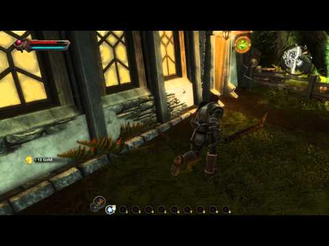 Kingdoms Of Amalur: Reckoning Walkthrough By Swift, Part 4: Crafting Potions & Gear (in 1080p HD)