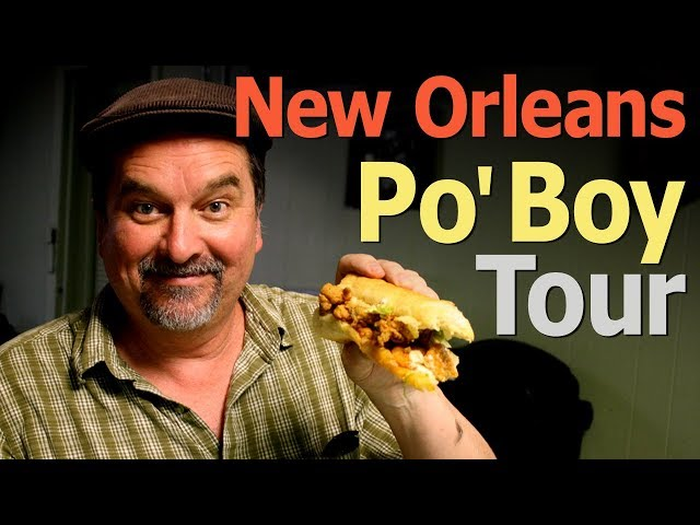 New Orleans Po Boy Tour By The 99 Cent Chef