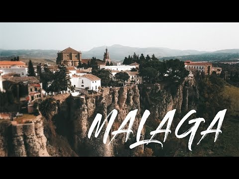 MALAGA! SECRET PLACES to visit! A Cinematic TRAVEL GUIDE