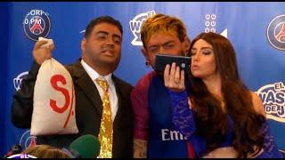 Neymar fue presentado a lo grande en el PSG