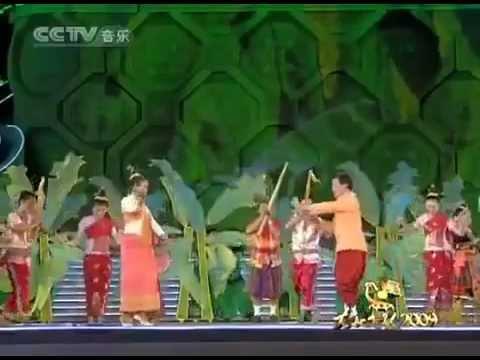 ເພງລາວ Lao music show in China - ສຽງແຄນລາວ Sieng Khaen Lao