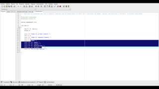 Ejemplo menu con switch