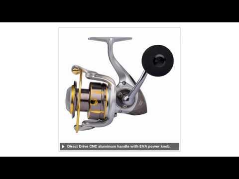 KastKing Kodiak Saltwater Spinning Reel Full Metal Body 18KG Drag Boat Fishing Reel
