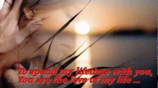 George Benson & Roberta Flack - ♫♥  You Are The Love Of My Life ♥♫