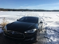 Tesla: Water-Sports with a Model S! Frozen Lake Experiences